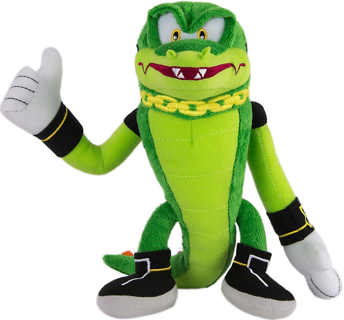 1153x1074 Tomy Sonic The Hedgehog Vector The Crocodile 8 Stuffed Plush