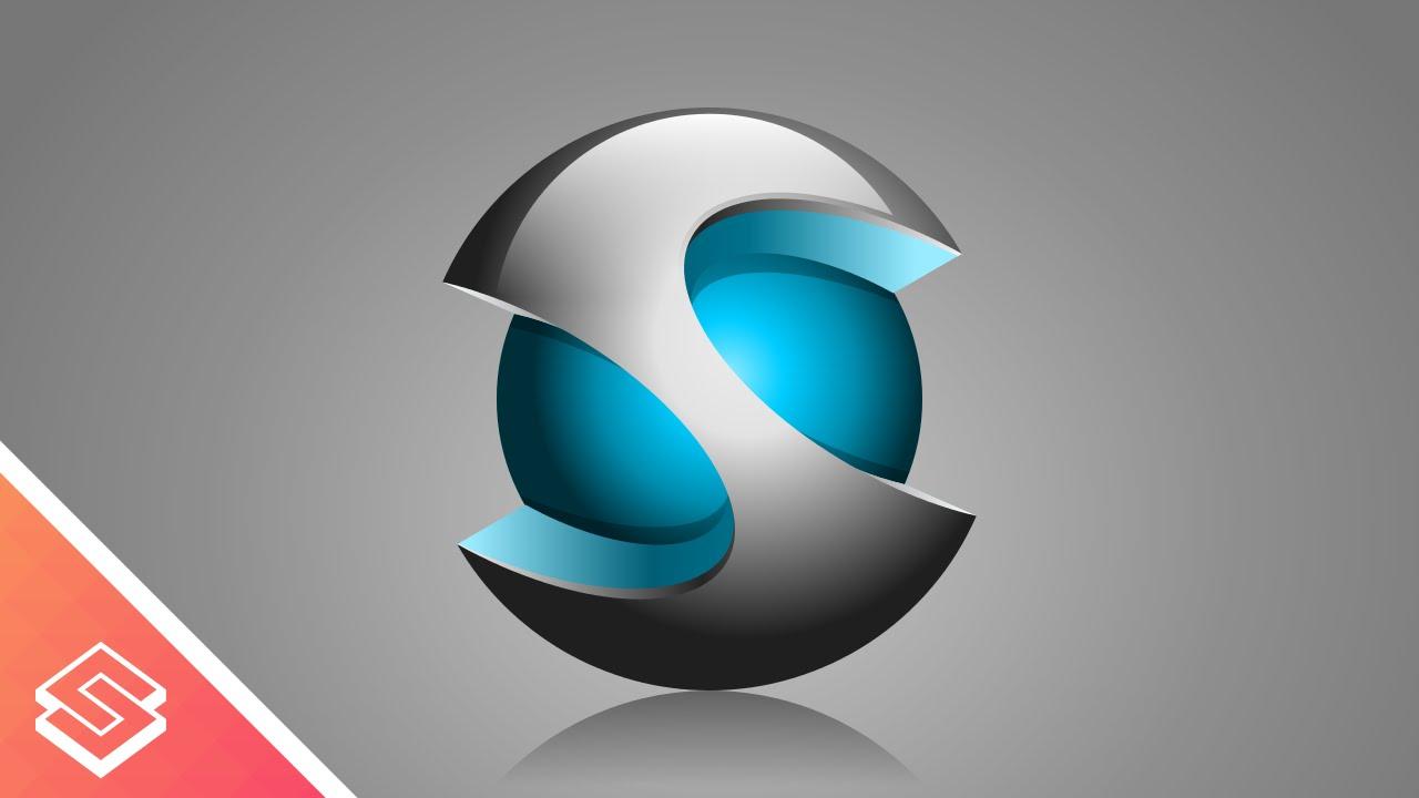 1280x720 Inkscape Tutorial 3d Vector Sphere Iconlogo