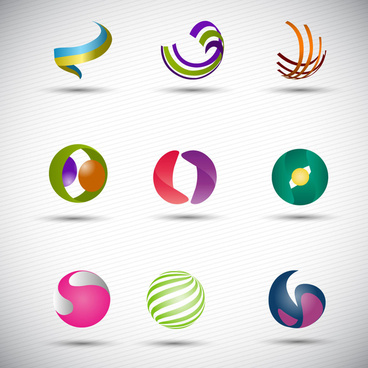 368x368 Abstract Sphere Logo Free Vector Download (81,098 Free Vector) For
