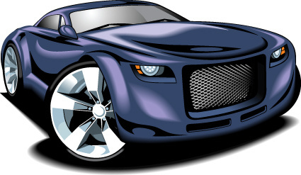 425x247 Green Sports Car Free Vector Download (11,027 Free Vector) For