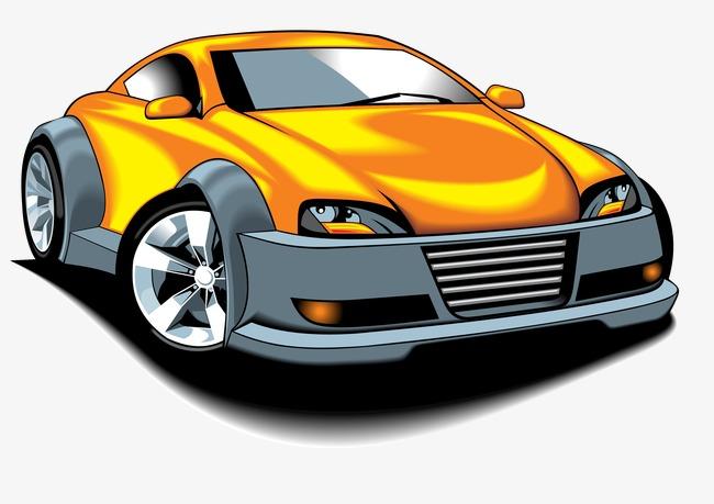 650x459 Sports Car Cartoon Vector Elements, Car Vector, Cartoon Vector