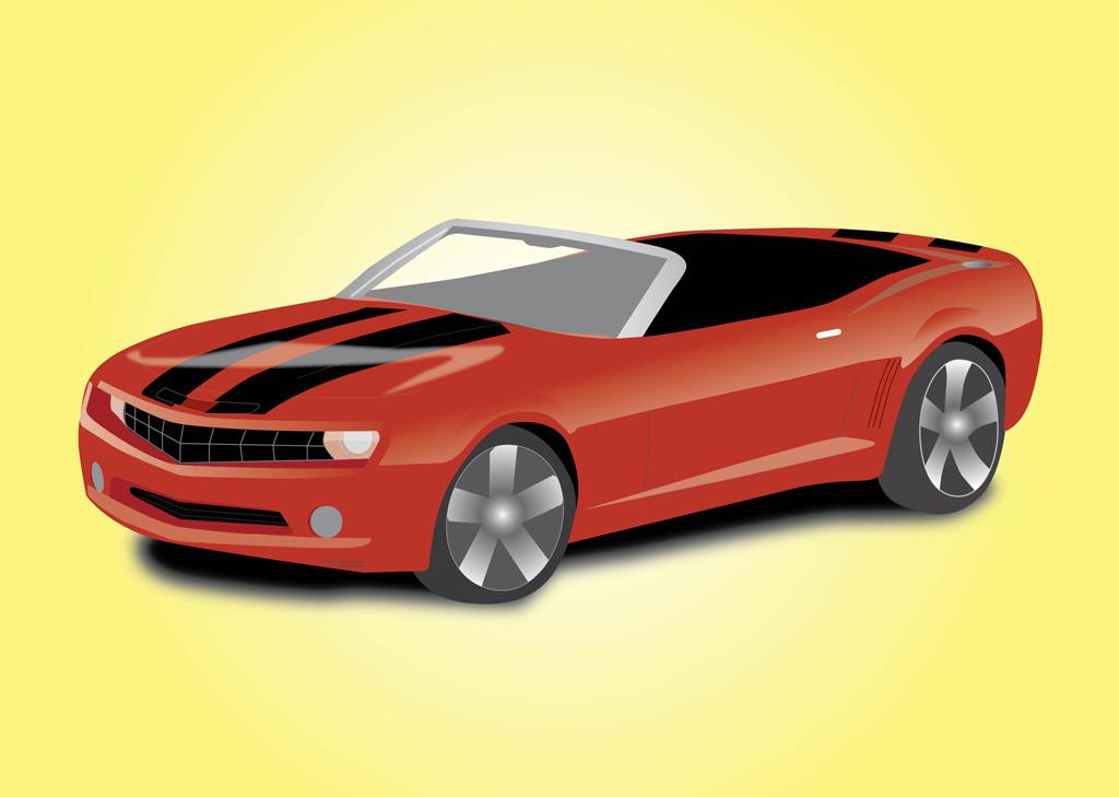 1024x729 Sports Car Convertible Vector Art Amp Graphics