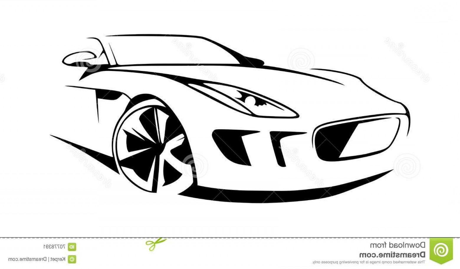 1560x914 Sports Car Silhouette Vector Illustration Arenawp