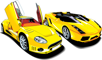 425x250 Sports Car Free Vector Download (4,435 Free Vector) For Commercial