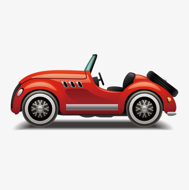 650x651 Vector Open Top Sports Car, Sports Clipart, Car Clipart, Vector