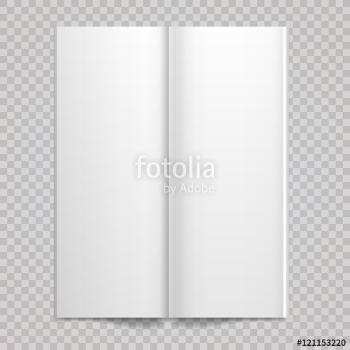 500x500 Isolated White Paper Vector White Blank Spread On White Background