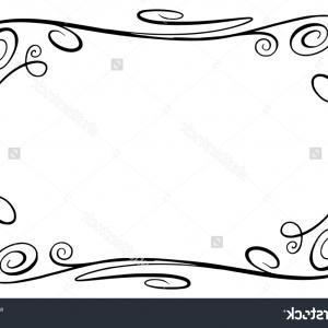 300x300 Flourish Vector Frame Rectangle Squiggles Twirls Sohadacouri