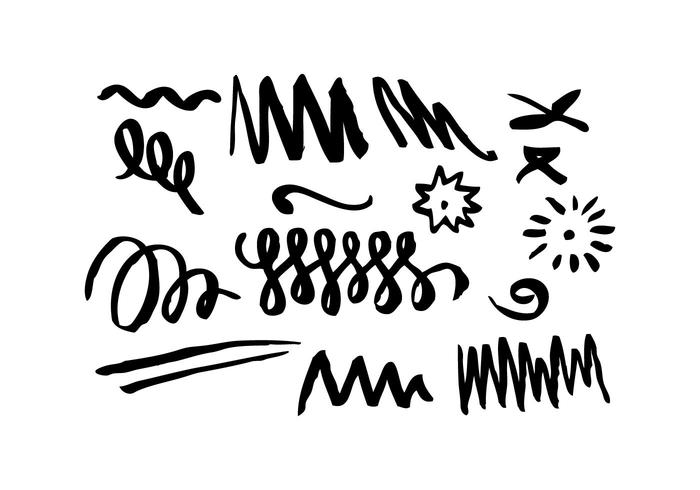 700x490 Squiggles Free Vector Art