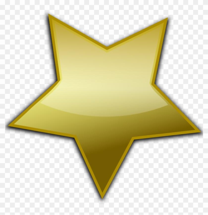840x870 Gold Star Clipart Gold Star Clip Art At Clker Vector