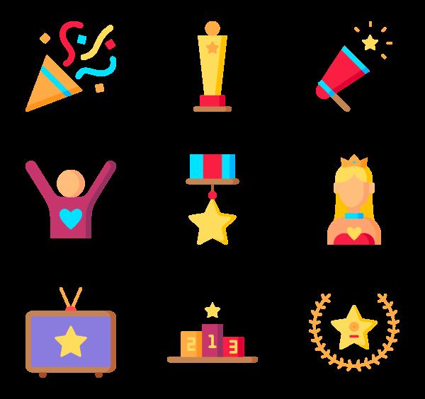 600x564 Star Icons