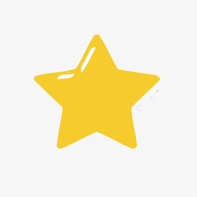 650x651 Vector Yellow Star Material, Creative Star, Vector Stars, Star Png