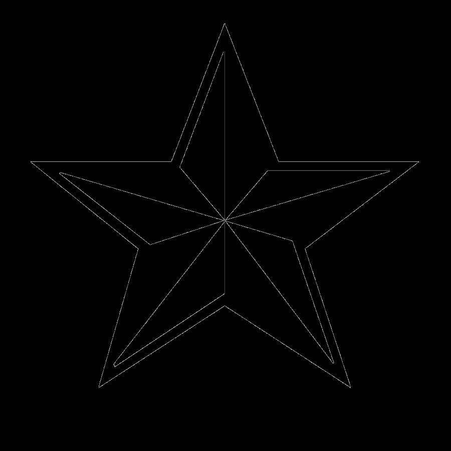 900x900 3d Black Star Png Icon Transparent Background Image Download Png