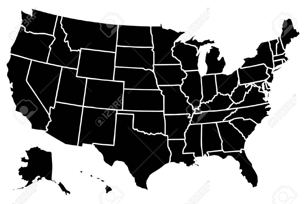 1300x866 Unied States Map And Travel Information Download Free Unied