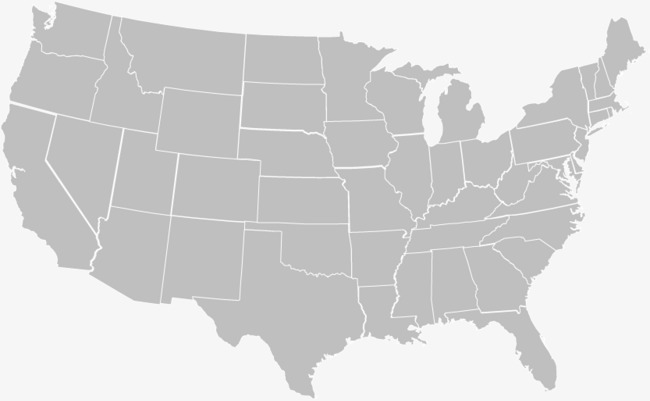 650x401 United States Map, Map Vector, Map Navigation, Gray Png And Vector