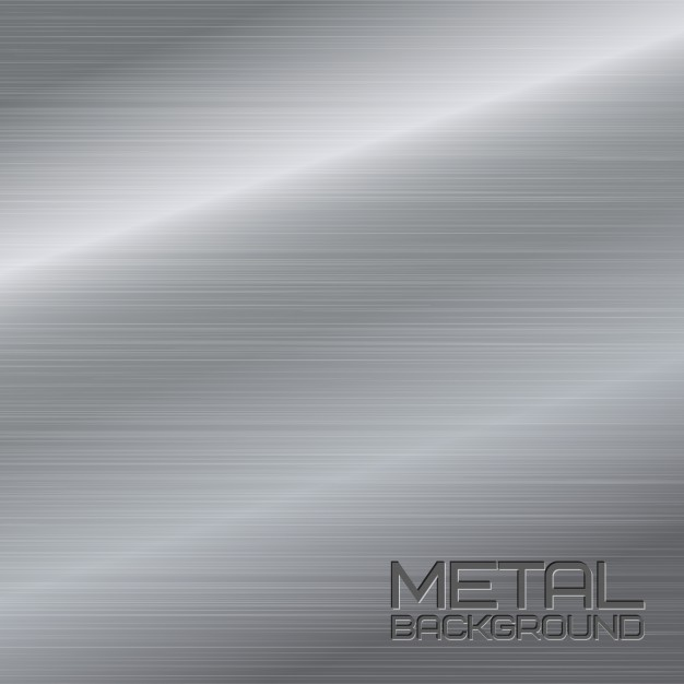 626x626 Shiny Abstract Metal Background With Steel Silver Chrome Surface