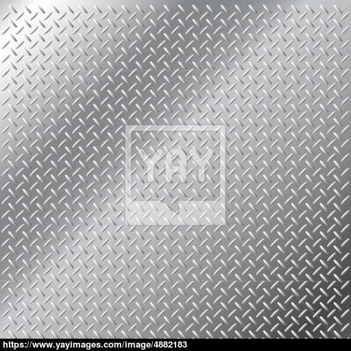 512x512 Stainless Steel Diamond Hatch Pattern Vector Metal Background