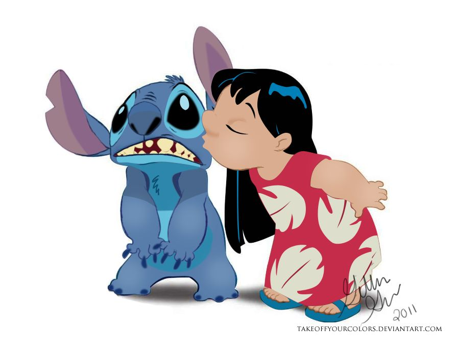 895x685 Lilo And Stitch Vector By ~takeoffyourcolors