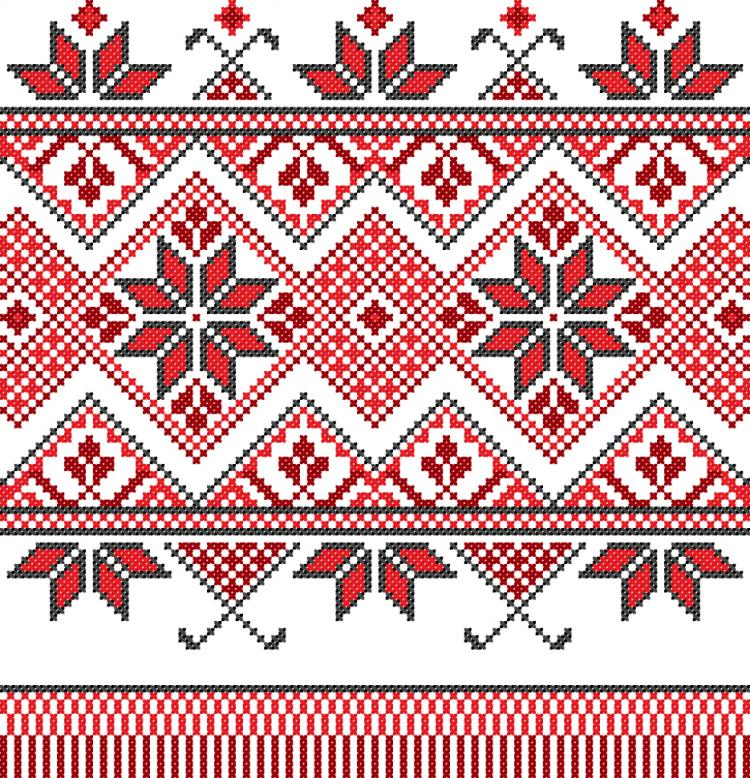 750x778 Cross Stitch Patterns 10 Vector Free Vector 4vector