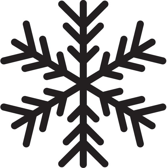 580x583 Falling Snowflakes Free Stock Vector Set No Cost Royalty Free Stock