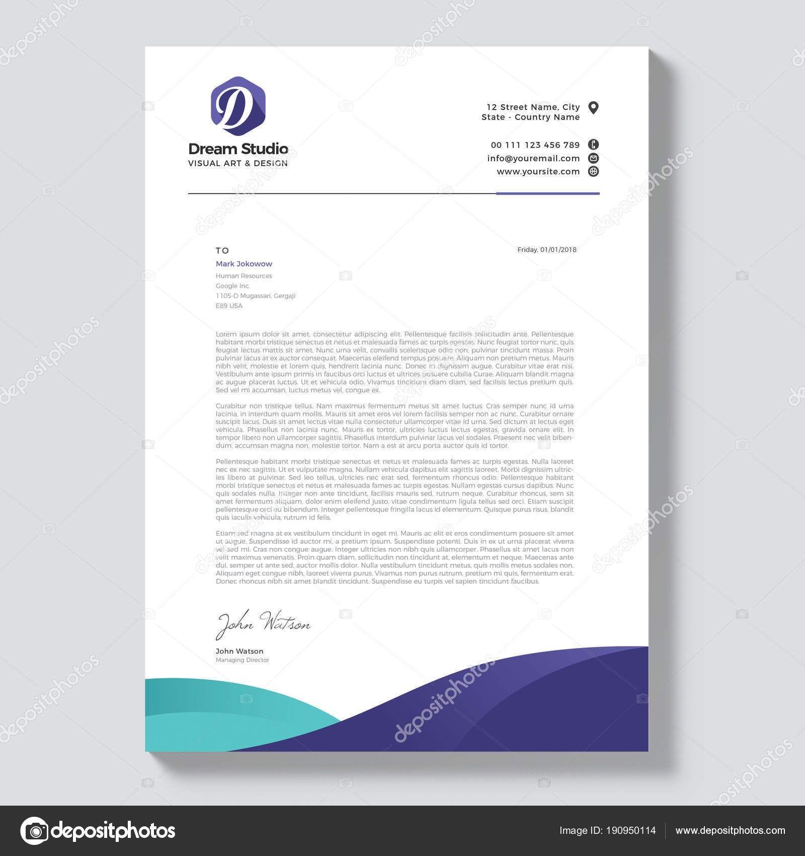 professional letterhead templates free download