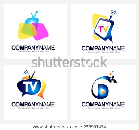 450x420 Logos. Tv Company Logos Creative Tv Broadcast Logo Vector Stock