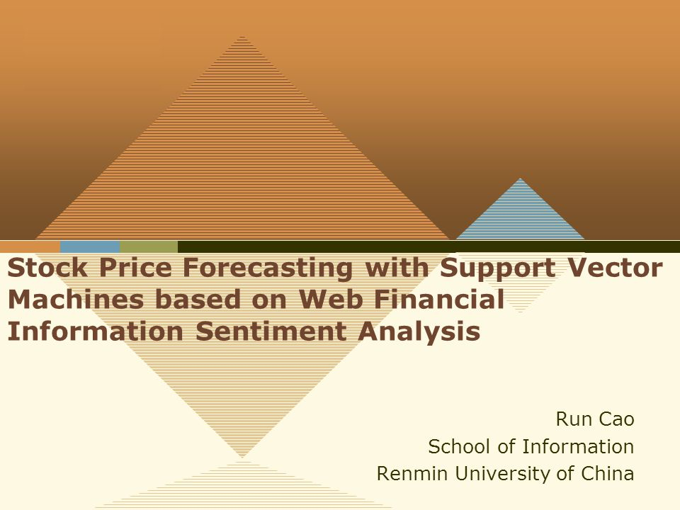 960x720 Company Logo Stock Price Forecasting With Support Vector Machines
