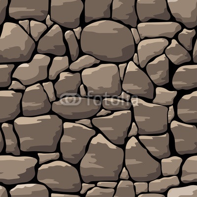 Vector Stone Wall