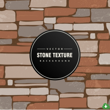 350x350 Free Vector Stone Wall Background Colored Classical Flat Design