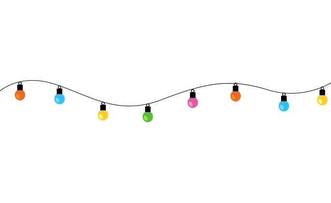 650x400 String Light Png String Lights Elements String Lights Vector Light