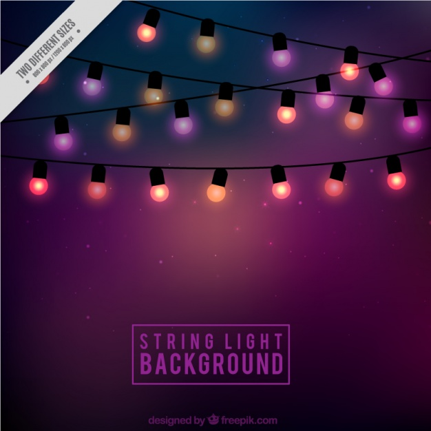 626x626 Interior. Cute String Lights Background Of Cute String Lights