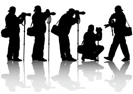 425x301 Elements Of Photographic Studio Photographer Design Vector 03 Free