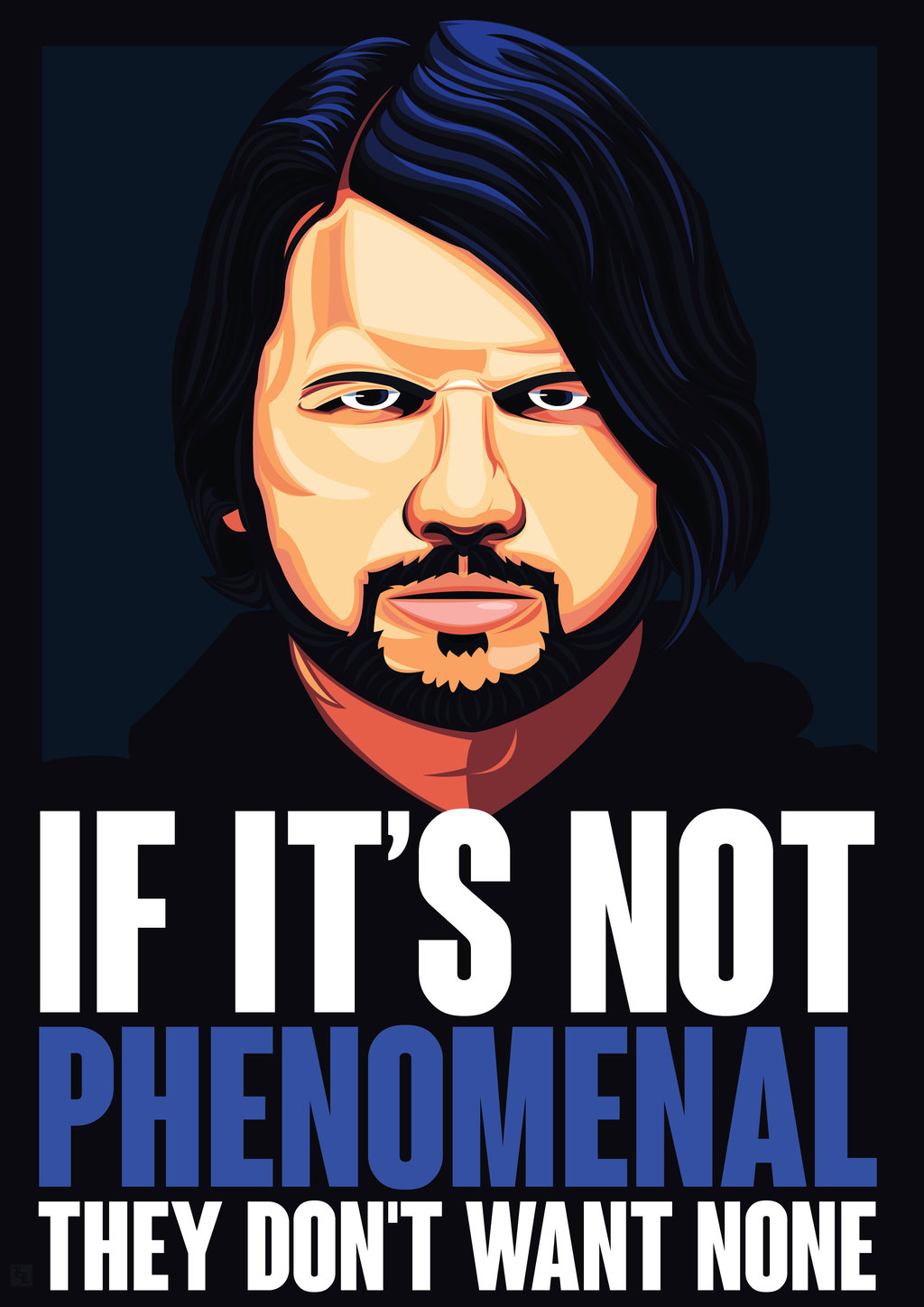 1024x1448 Vector Art No.8 The Phenomenal Aj Styles By Levinlucido