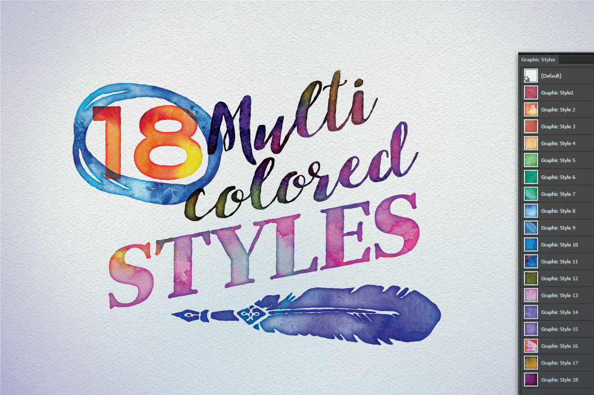 1160x772 Watercolor Vector Styles Illustrator Graphic Spirit