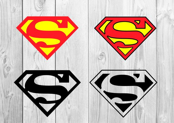 570x403 Superman Logo Svg Superman Logo Vector Superman Logo Etsy