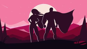 356x200 Superman Free Vector Art