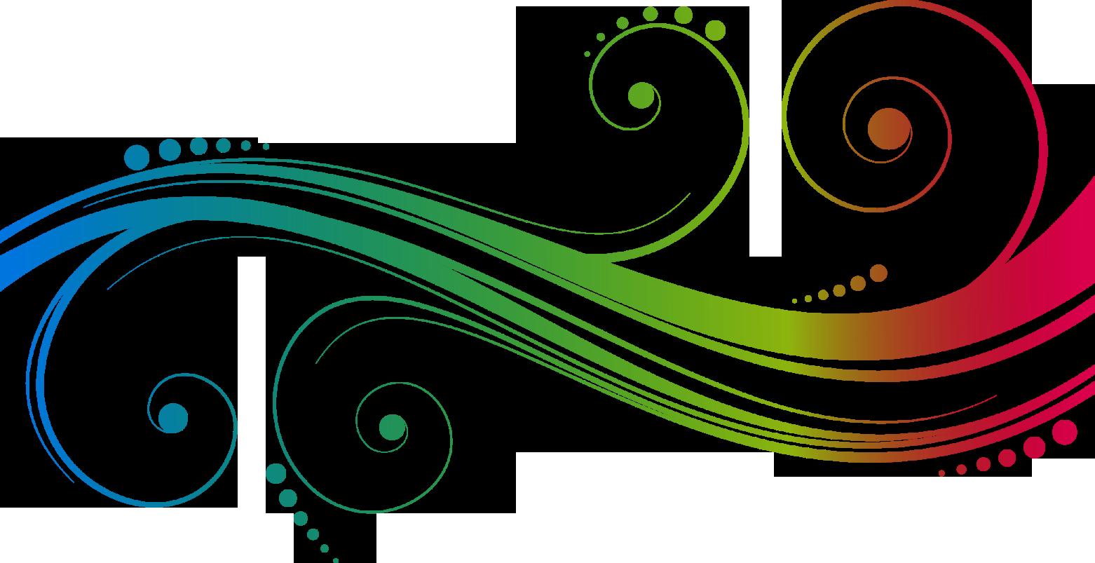 Vector Swirl Lines