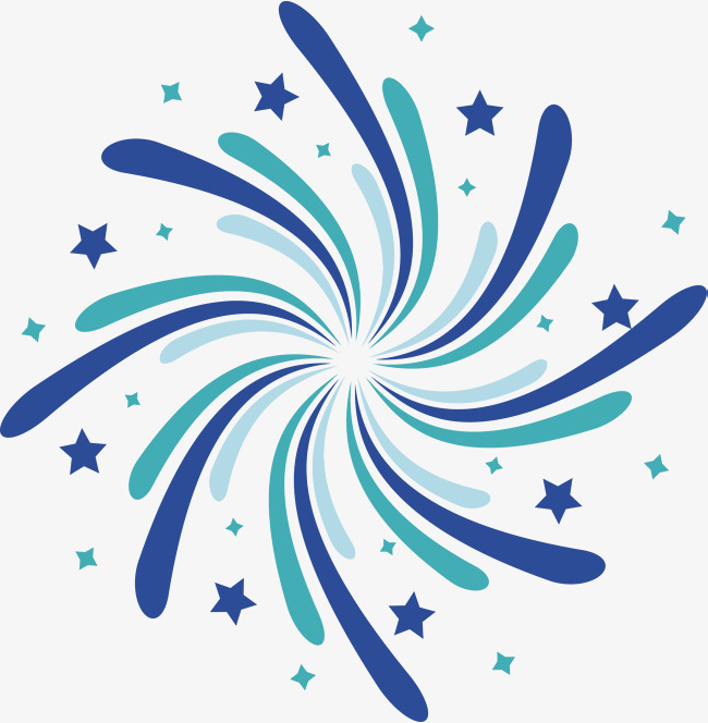 650x664 Blue Green Swirl Lines, Swirl Vector, Vector Png, Fireworks Png