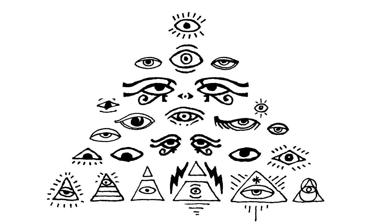 1270x770 All Seeing Eyes Vector Pack For Adobe Illustrator