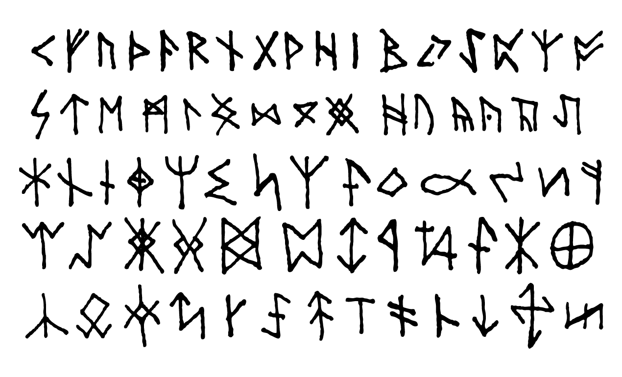 1270x770 Ancient Runes And Esoteric Symbols For Adobe Illustrator