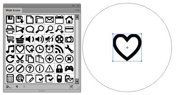 590x320 Creating Love Heart Candies Using Symbols And The Appearance Panel