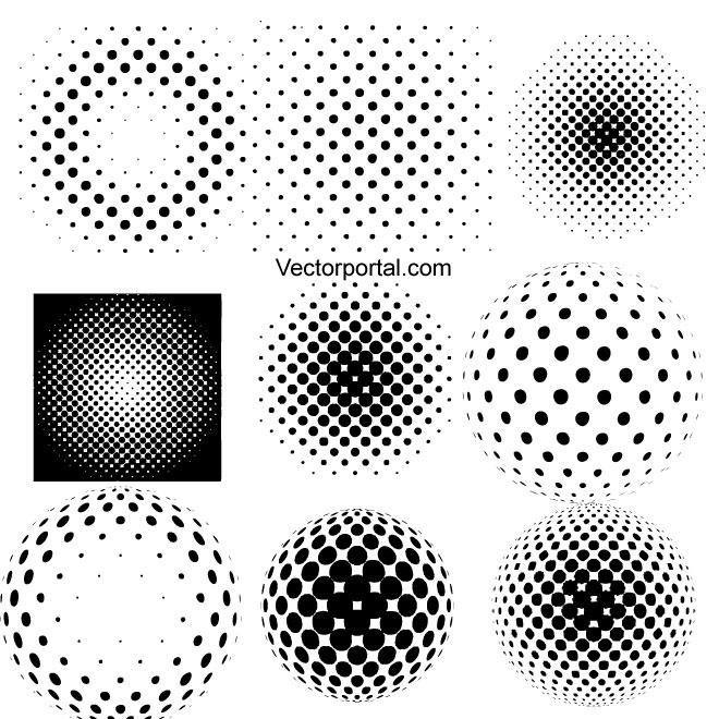 660x660 Halftone Illustrator Symbols