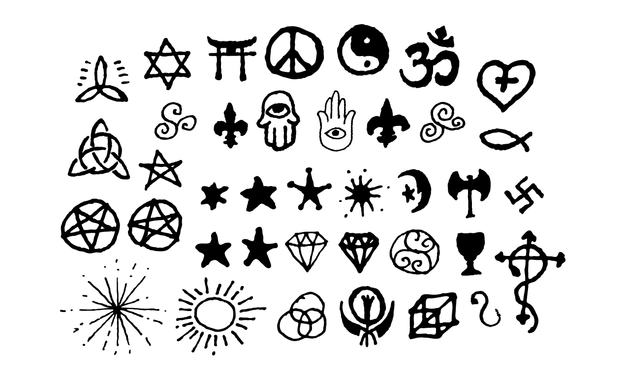 1270x770 Spiritual Vectors And Esoteric Symbols For Adobe Illustrator
