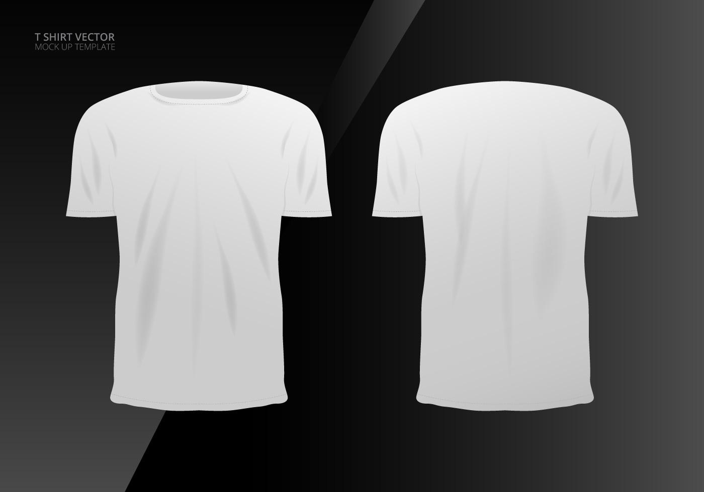 1400x980 T Shirt Mock Up Free Vector Art