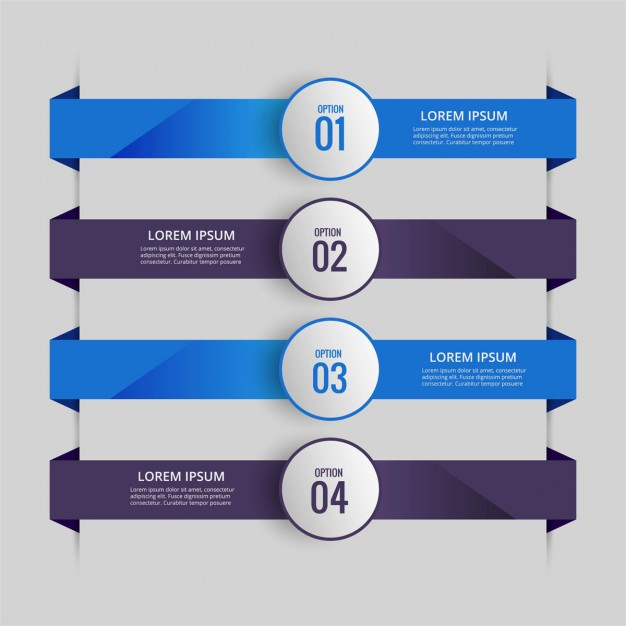 626x626 Infographic With Blue And Purple Tabs Vector Free Download