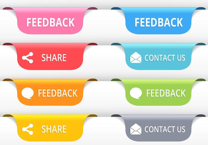700x490 Feedback Tab Button Vectors