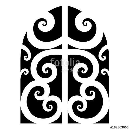 500x500 Tattoo Tribal Maori Vector Designs Element. Tribal Tattoos. Art