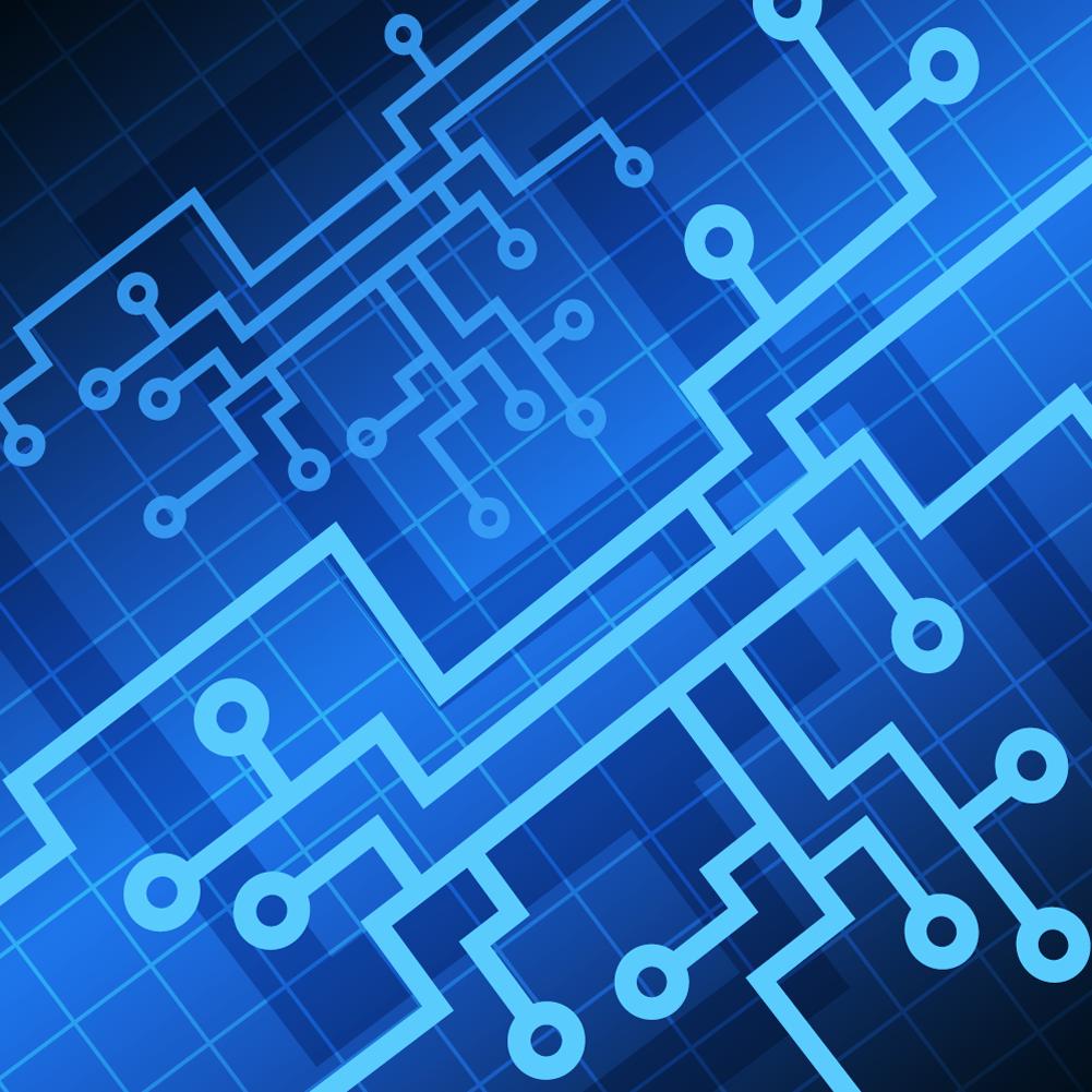 1001x1001 Vector Tech Background