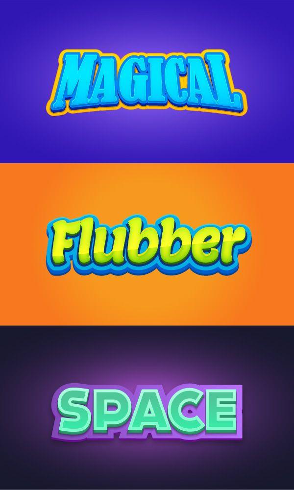 600x1000 Gold Text Effect Illustrator Free Vector 221 383 Free Illustrator