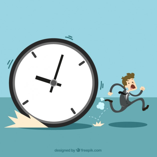 626x626 The Time Management Concept Vector Free Download