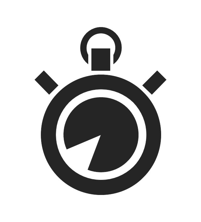 640x706 Time And Clock Pictograms